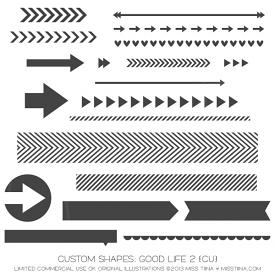 Good Life 2 Shapes (CU)