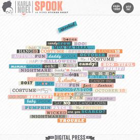 Spook | word stickers