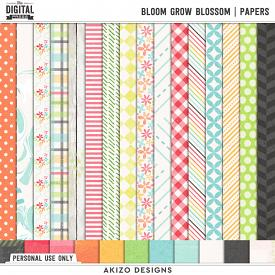 Bloom Grow Blossom | Papers