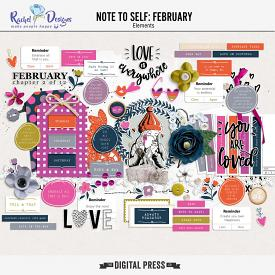 Note To Self February | Elements