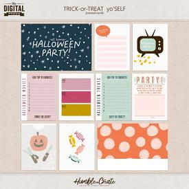 Trick or Treat Yo' Self | Journal Cards
