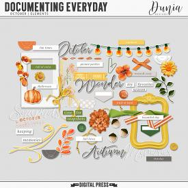 Documenting Everyday | October - Elements