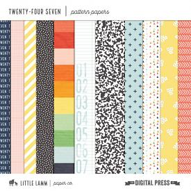 Twenty-Four Seven | Pattern Papers
