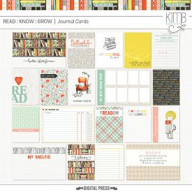 Read Know Grow : Journal Cards