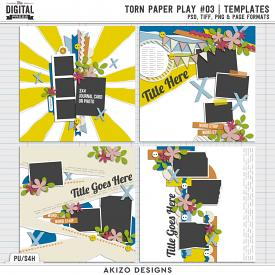 Torn Paper Play 03 | Templates