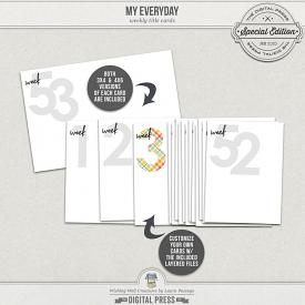 My Everyday | Weekly Cards & Templates
