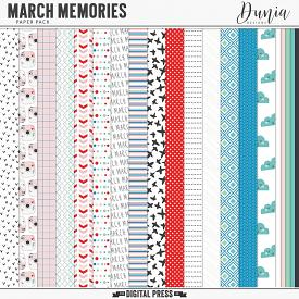 March Memories | Papers