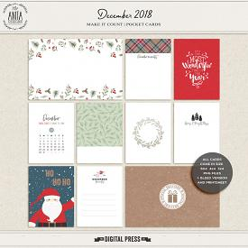 Make it Count: December 2018 | Pocket Cards