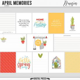April Memories | Cards