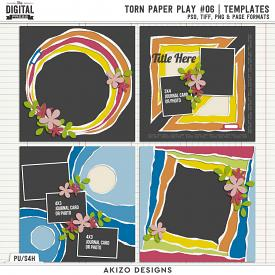 Torn Paper Play 06 | Templates