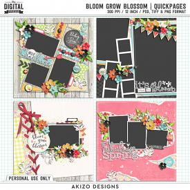 Bloom Grow Blossom | Quickpages