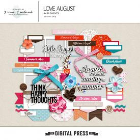 Love August - Elements