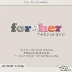 For Her | The Alphas