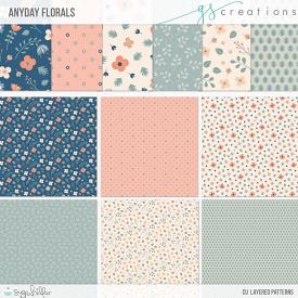 Anyday Florals Layered Patterns (CU)