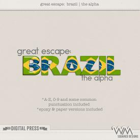 Great Escape:  Brazil | The Alpha