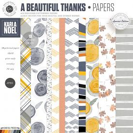 A Beautiful Thanks | Papers