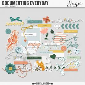 Documenting Everyday | July - Elements