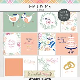 MARRY ME | POCKET CARDS
