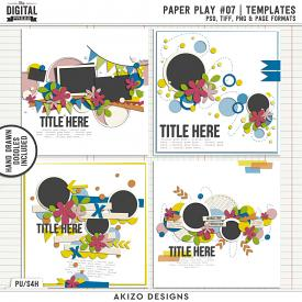 Paper Play 07 | Templates