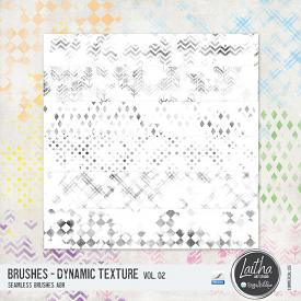 Dynamic Texture Brushes Vol. 02 (CU)