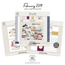 Make it count: February 2019 | collection