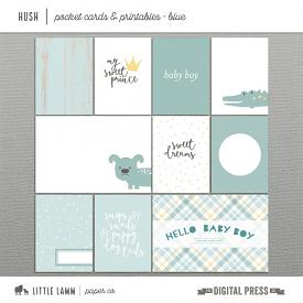 Hush | Boy Pocket Cards & Printables