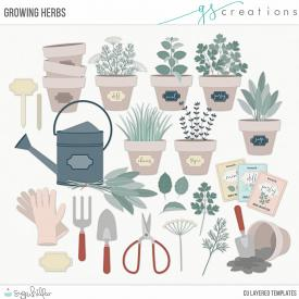 Growing Herbs Layered Templates (CU)