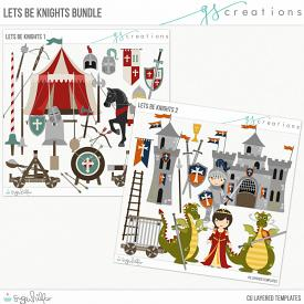 Let's Be Knights Layered Template Bundle (CU)