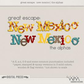 Great Escape:  New Mexico | The Alphas