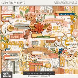 Happy Pumpkin Days | The Digital Kit
