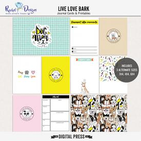 Live Love Bark | Pocket Cards