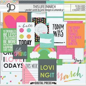 This Life | March - Pocket Cards