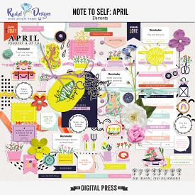Note To Self April | Elements