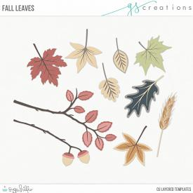 Fall Leaves Layered Templates (CU)