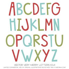 Very Merry Letters (CU)