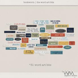Bookworm | The Word Art Bits