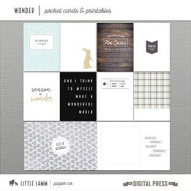 Wonder | Pocket Cards and Printables