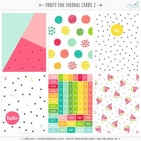 Fruity Fun Journal Cards 2 (CU)