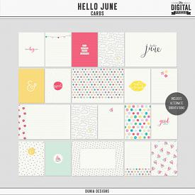 Hello June - Cards