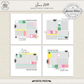 MAKE IT COUNT: JUNE 2019 | TEMPLATES