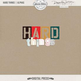 Hard Things | Alphas