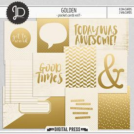 Golden | Pocket Cards Vol.1