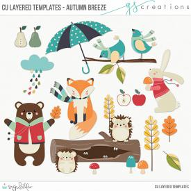 Autumn Breeze Layered Templates (CU)