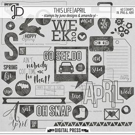 This Life | April - Stamps