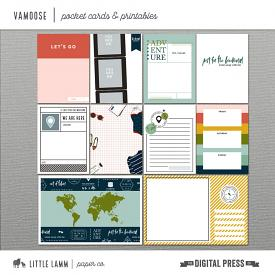 Vamoose | Pocket Cards and Printables
