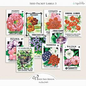 Seed Packet Labels 3 (CU)