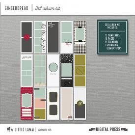 Gingerbread | 3x8 Album Kit