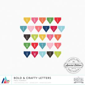 Bold & Crafty Letters