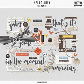 Hello July | Elements