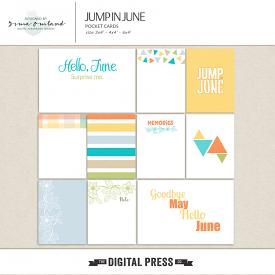 Jump in June-pocket cards
